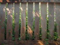 Conception en bois de barrière. Image stock
