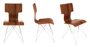 Conception en bois de chaise Image stock