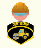 Conception en construction Images libres de droits