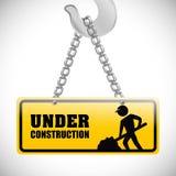 Conception en construction Photographie stock