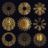 Conception et éléments caligraphic Photos stock