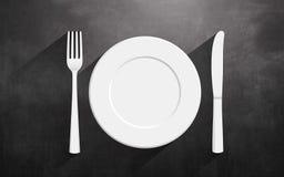 Conception et créativité de cuisine domestique Photographie stock