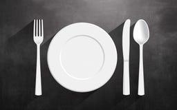 Conception et créativité de cuisine domestique Photo stock