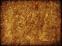 Conception et texture abstraites fleuries illustration de vecteur