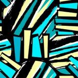Conception extérieure de modèle, métier sans couture de main de graffiti expressif illustration stock