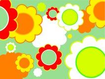 Conception florale Photos stock