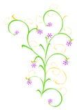 Conception florale. illustration de vecteur