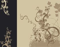 Conception florale Illustration Stock