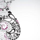 Conception florale abstraite Images libres de droits