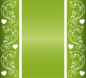 Conception florale de coeur Images libres de droits