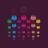 Conception de tulipe Photo stock