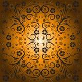 Conception florale de vecteur abstrait Images libres de droits