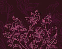 Conception florale moderne Images stock
