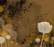 Conception florale ornementale Images libres de droits