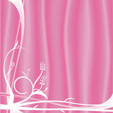 Conception florale rose illustration stock