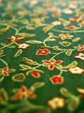 Conception florale sur le tissu Photos libres de droits