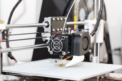 conception fonctionnante de yelement de mécanisme de l'imprimante 3d Image stock