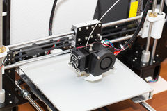 conception fonctionnante de yelement de mécanisme de l'imprimante 3d Images stock