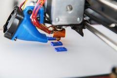 conception fonctionnante de yelement de mécanisme de l'imprimante 3d du dispositif pendant les processus Images stock