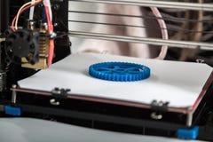 conception fonctionnante de yelement de mécanisme de l'imprimante 3d du dispositif pendant les processus Photos libres de droits