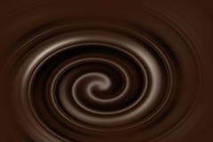 Conception fondue de fond de chocolat Image libre de droits