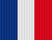 Conception française de drapeau Photos libres de droits