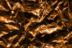 Conception froissée de texture d'aluminium Images libres de droits