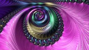 Conception générée par ordinateur abstraite de fractale banque de vidéos
