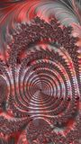 Conception générée par ordinateur abstraite de fractale Photos stock