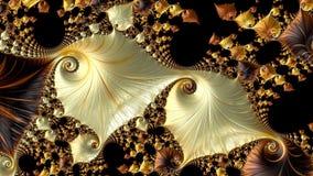 Conception générée par ordinateur abstraite de fractale Photos libres de droits