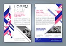 Conception géométrique minimale abstraite de polygone de formes Image libre de droits