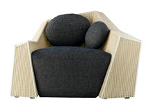Conception gentille et seule du fauteuil moderne Image libre de droits