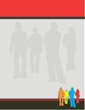 Conception graphique de disposition Photographie stock libre de droits