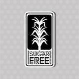 Conception gratuite de sucre Image libre de droits