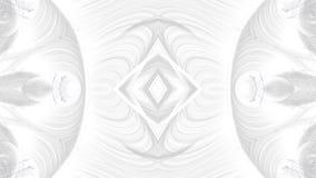 Conception grise abstraite d'art de Digital sur le fond blanc photographie stock libre de droits