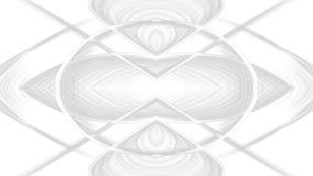 Conception grise abstraite d'art de Digital sur le fond blanc photographie stock