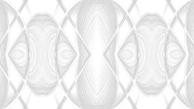 Conception grise abstraite d'art de Digital sur le fond blanc photos libres de droits