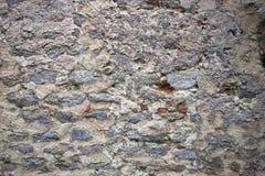 Conception grise de style de couleur de vrai de mur en pierre modèle de surface Images stock