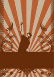 Conception grunge abstraite. Image libre de droits