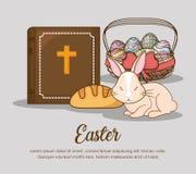 Conception heureuse de jour de Pâques Images stock