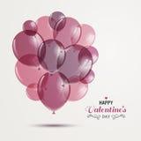 Conception heureuse de Saint-Valentin Photo libre de droits