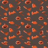 Conception heureuse de vecteur de modèle de Halloween illustration de vecteur