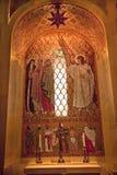 Conception immaculée de tombeau de mosaïque d'ange Photos stock