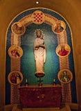 Conception immaculée de tombeau de statue de Mary Photographie stock libre de droits