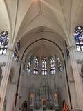 Conception impeccable de basilique de cathédrale d'autel Photo libre de droits