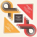 Conception infographic créative Photographie stock libre de droits