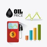 Conception infographic d'industrie pétrolière de pétrole et  Photos libres de droits