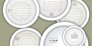 Conception infographic de calibre de vecteur moderne Photos libres de droits