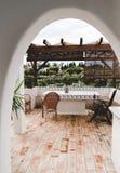 Conception intérieure à la maison au Portugal Portimao photographie stock libre de droits