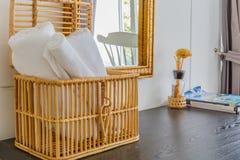 Conception intérieure à la maison minimale moderne photo libre de droits